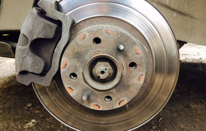 гранта замена тормозных дисков