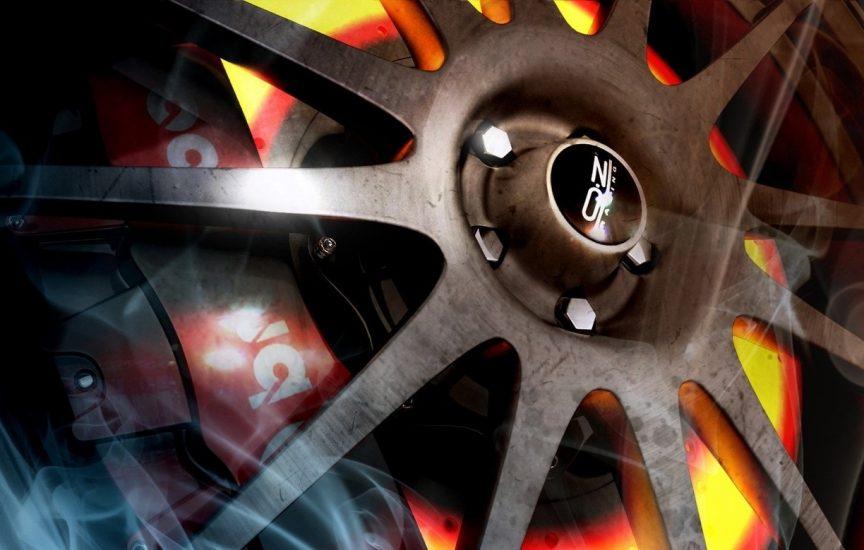 Греется колесо