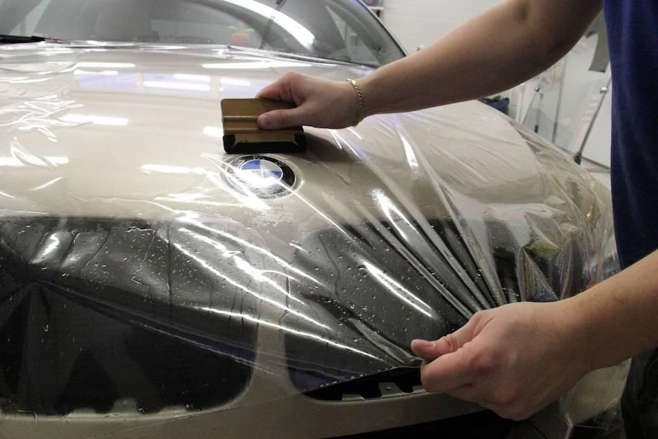 подготовка кузова к оклейке