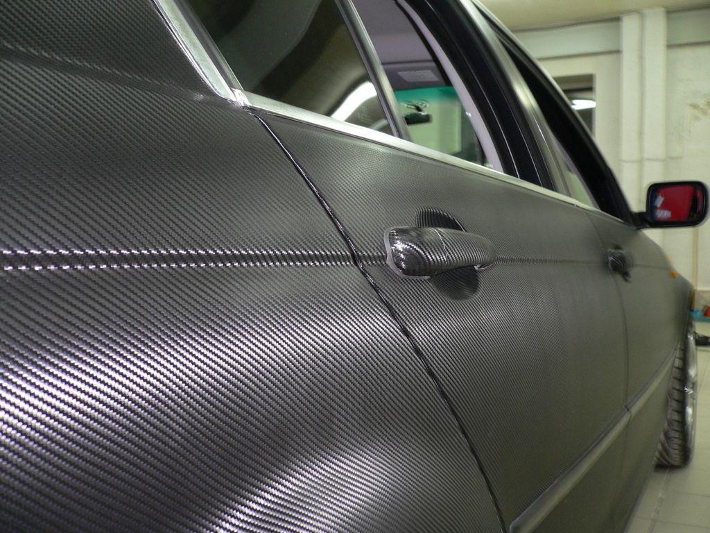 как снять карбоновую пленку с автомобиля