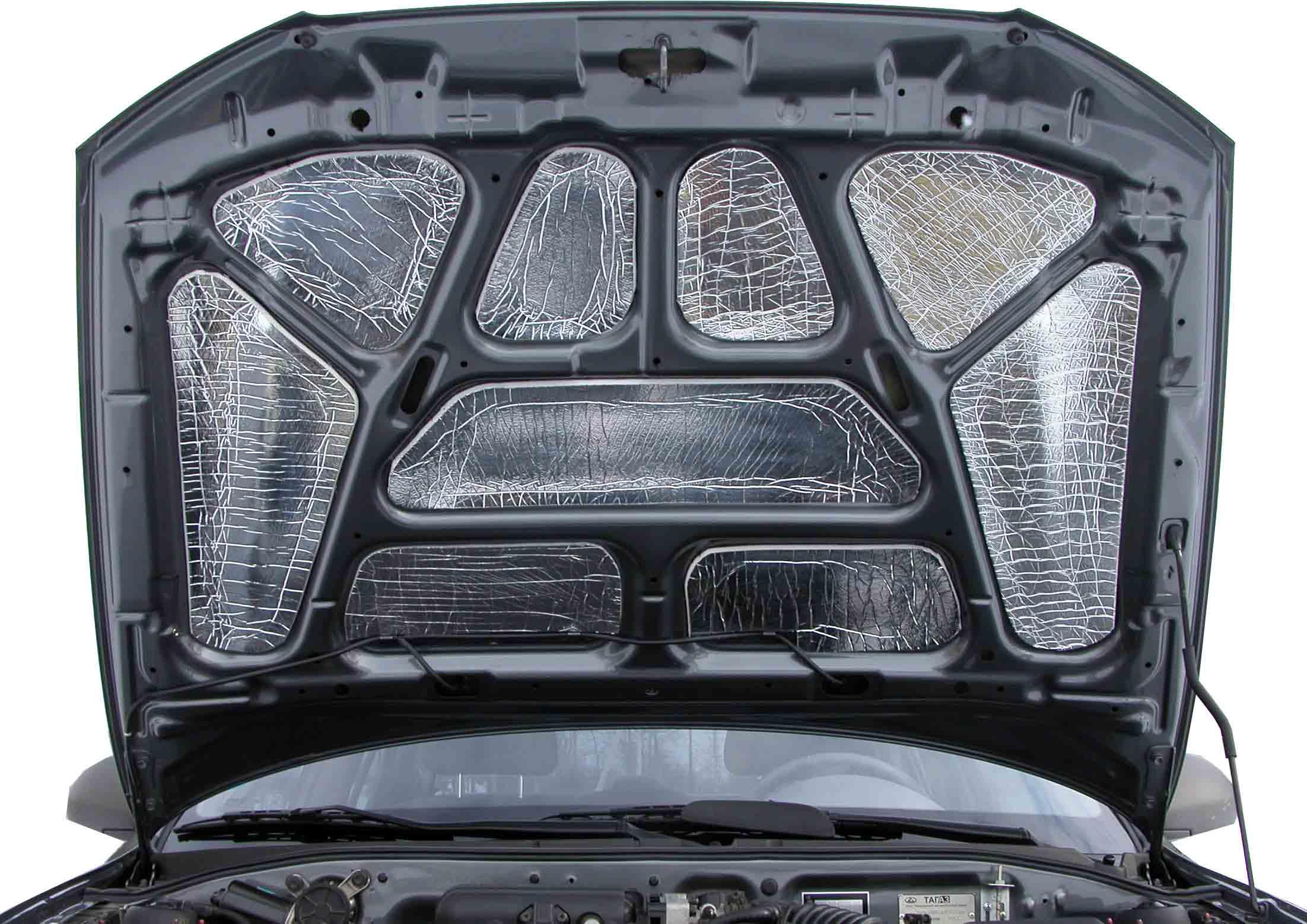 Как выбрать материал для шумоизоляции капота авто, рейтинг лучших звукоизолирующих материалов