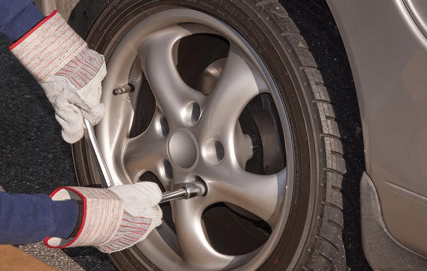 крепеж колес лада гранта