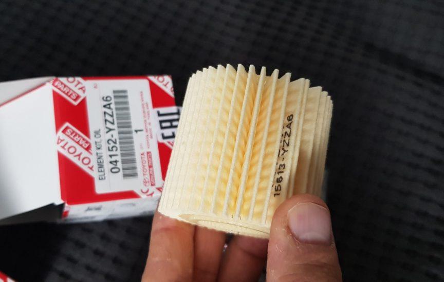 масляный фильтр тойота королла