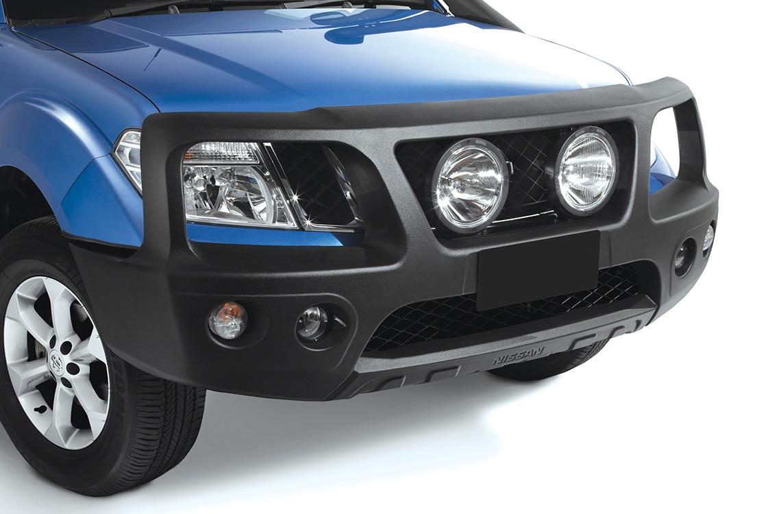 Передний силовой бампер PowerFul Nissan Navara D40/Pathfinder R51