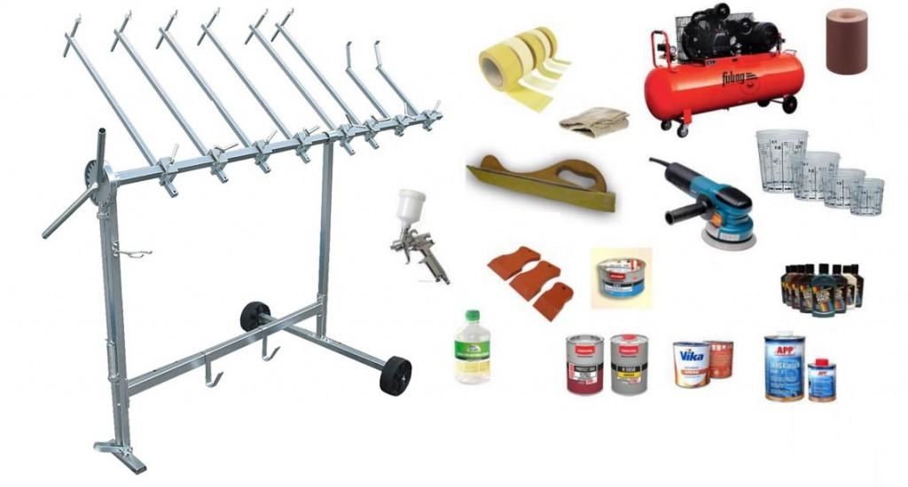 Правильные материалы и инструменты