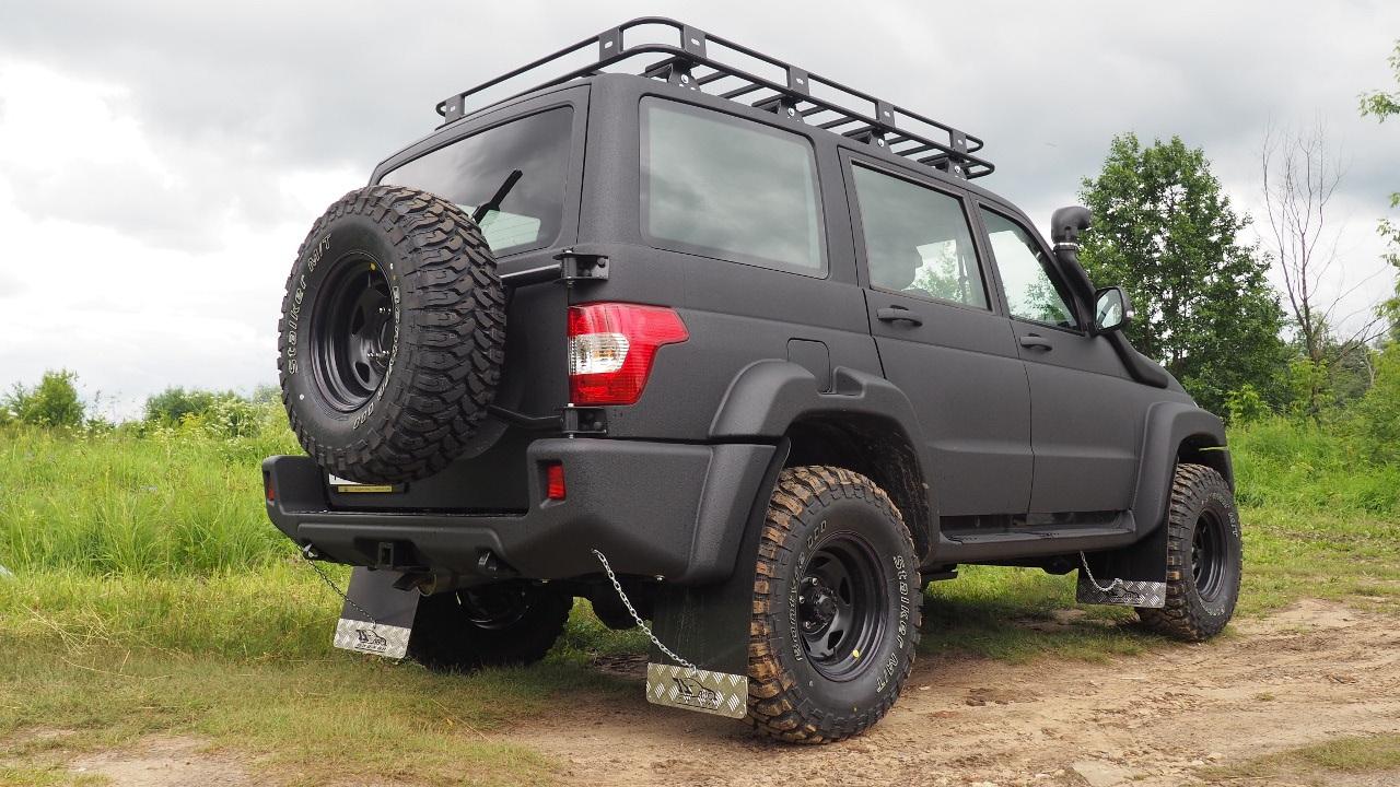Силовой передний обвес для УАЗ Patriot «АВС-Дизайн серия М»