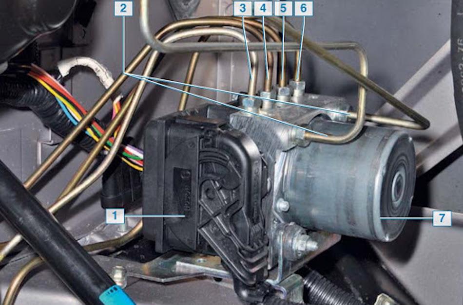 система ABS на «Калине»