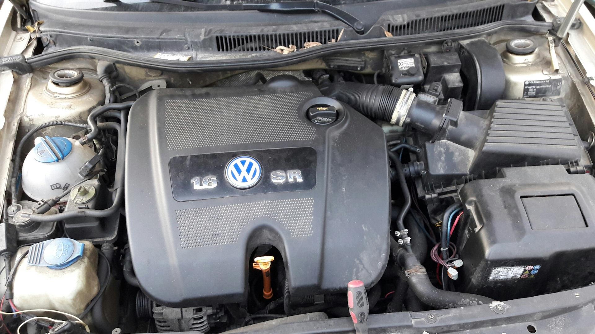 VW Bora 2.0 под капотом