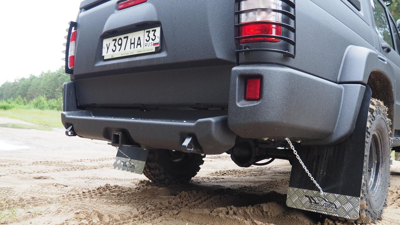 Задний силовой обвес для УАЗ Pickup «АВС-Дизайн»