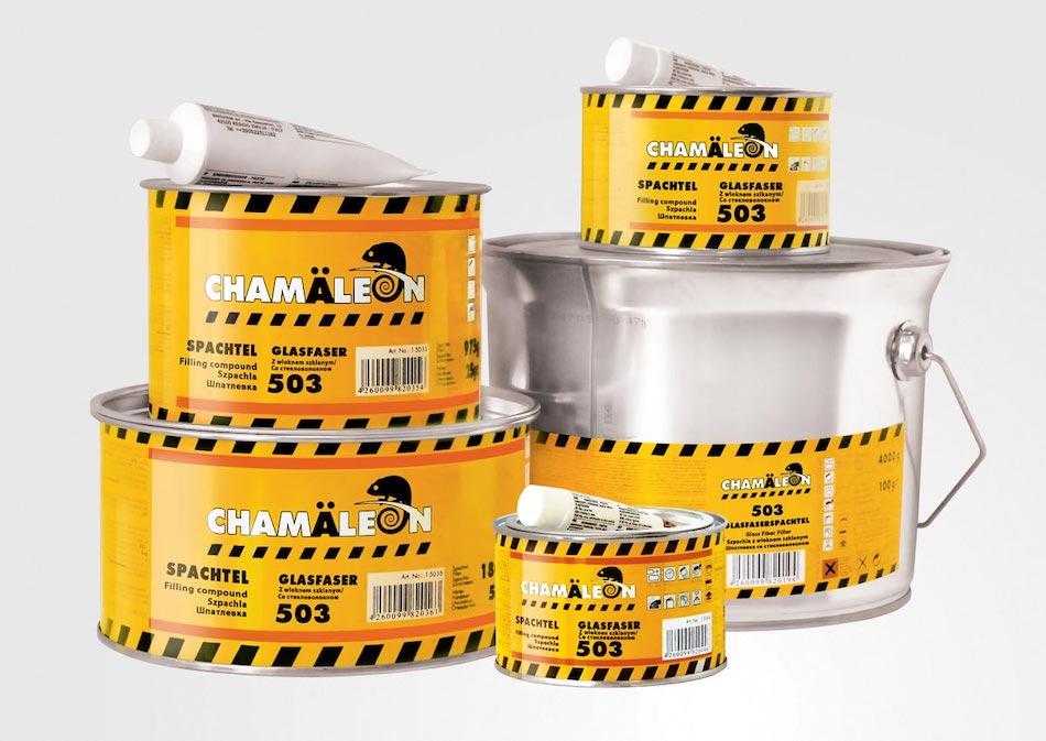 Шпатлевка CHAMAELEON для пластиков + отвердитель