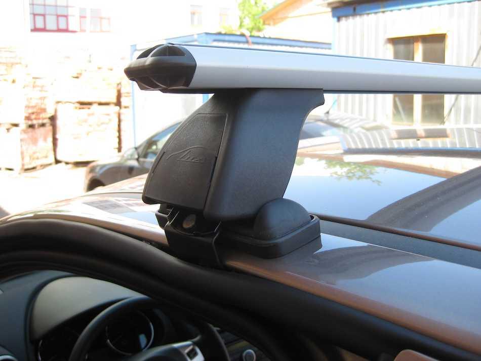 автобагажник Lux BK1 стальной на Nissan Qashqai J10