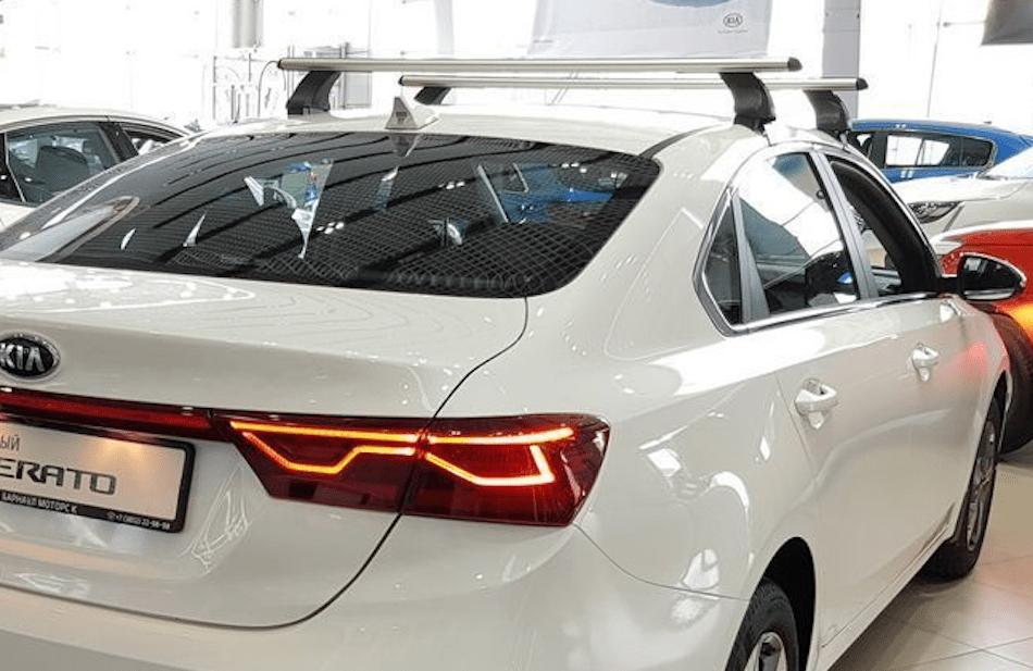 багажник на крышу KIA Cerato 4 седан 2018-