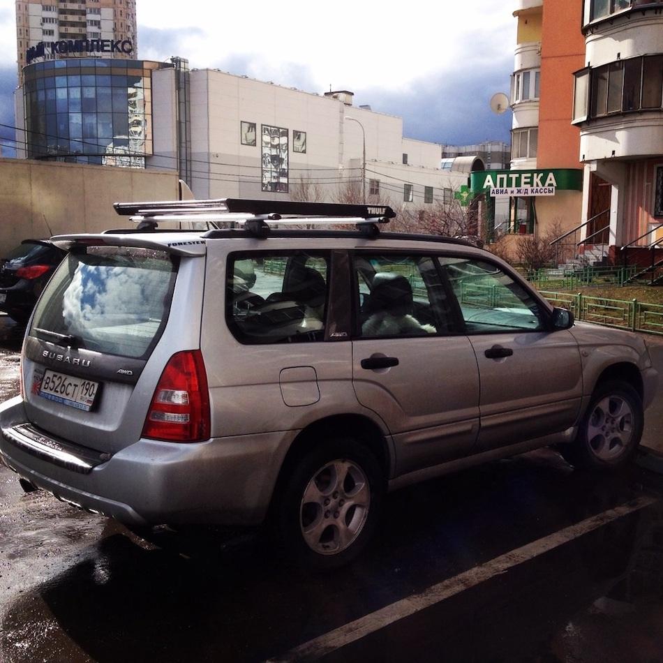 Багажник на крышу SUBARU FORESTER II