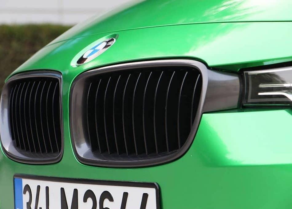 глянцевая пленка Premium темно-зеленого оттенка