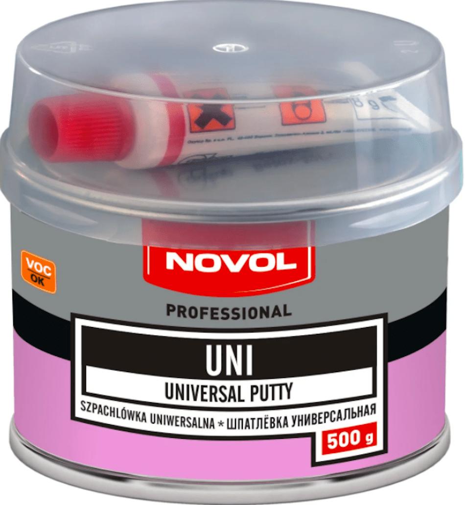 Комплект (шпатлевка, отвердитель) NOVOL UNI