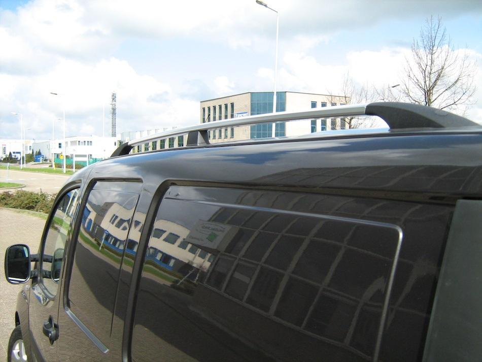 автобагажник на крышу FIAT DOBLO I рейлинги
