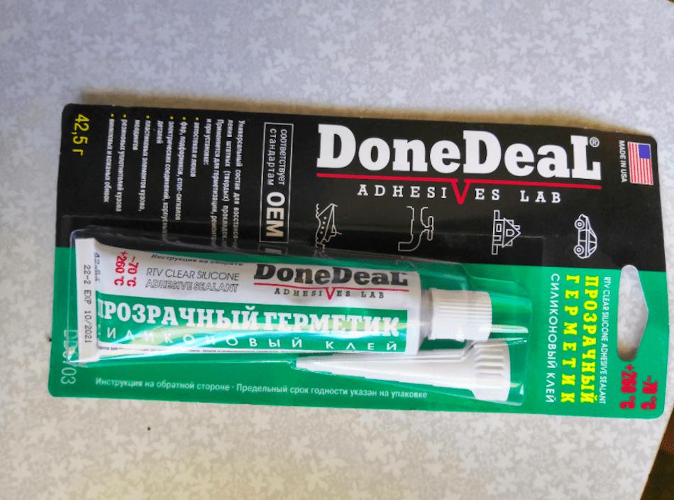 силиконовый клей-герметик для ремонта автомобиля Done Deal 6703