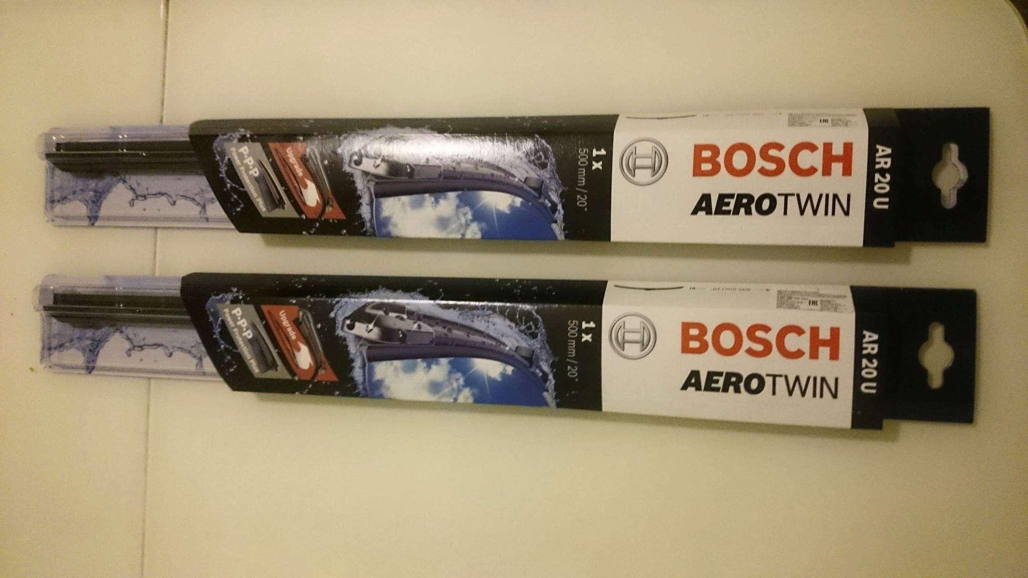 Aerotwin – флагманская серия Bosch
