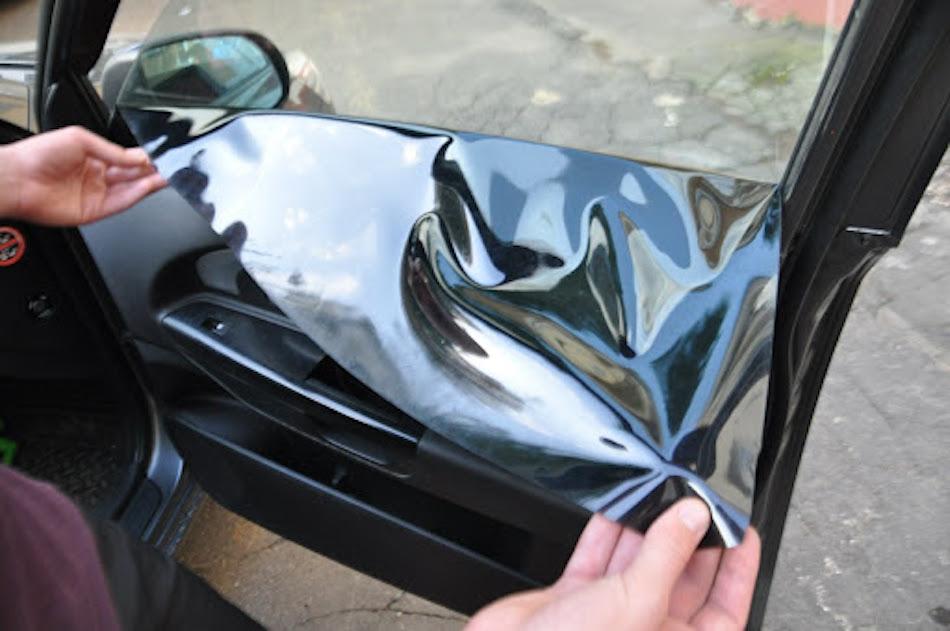 самостоятельная тонировка стекол авто