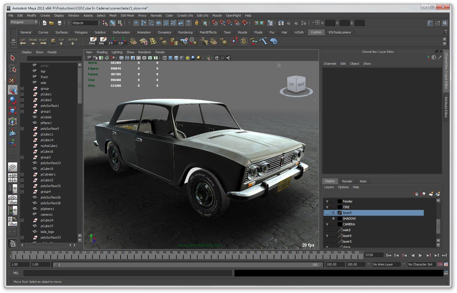 Autodeskmaya программа для 3д тюнинга авто