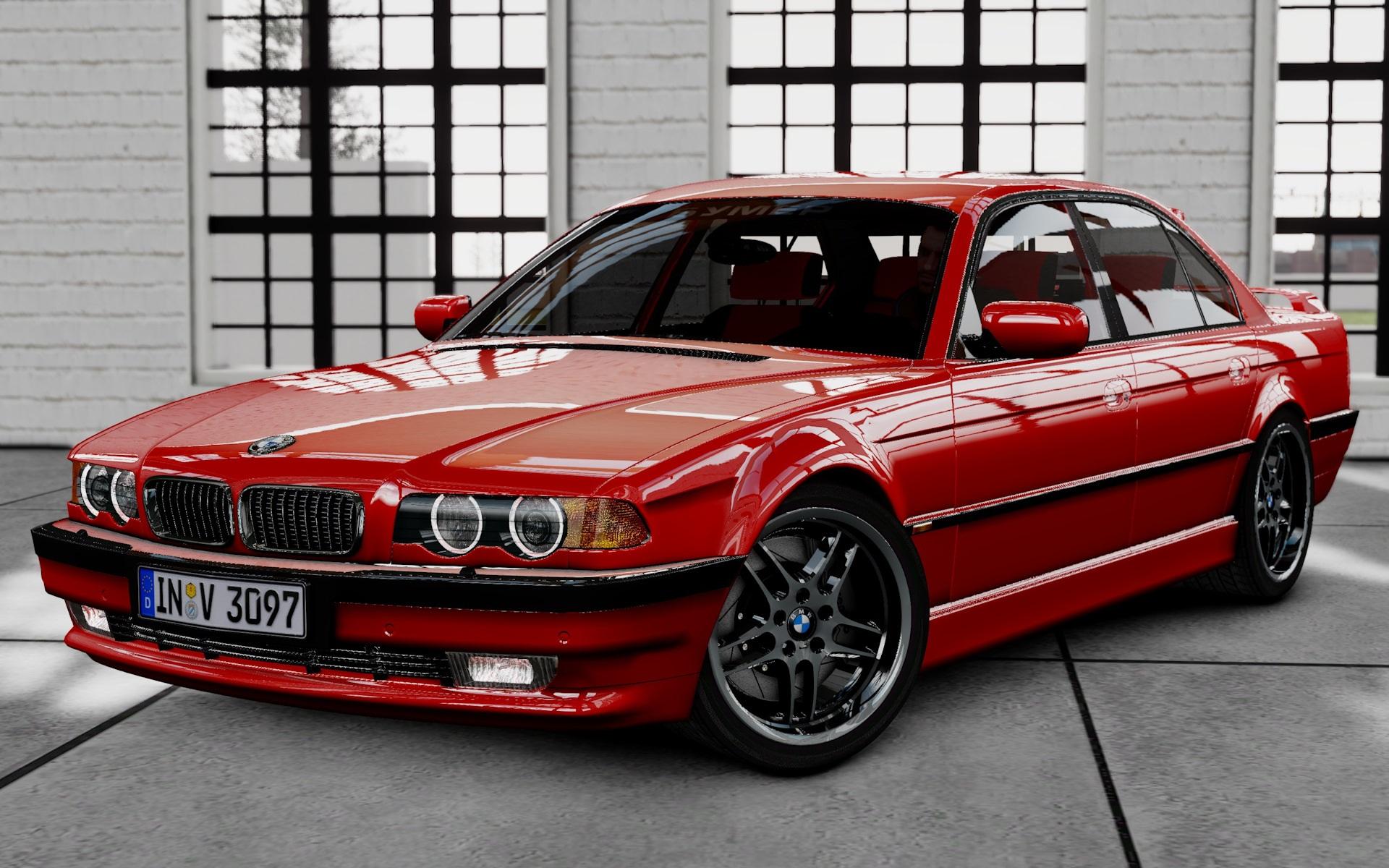 Автомобиль BMW E38