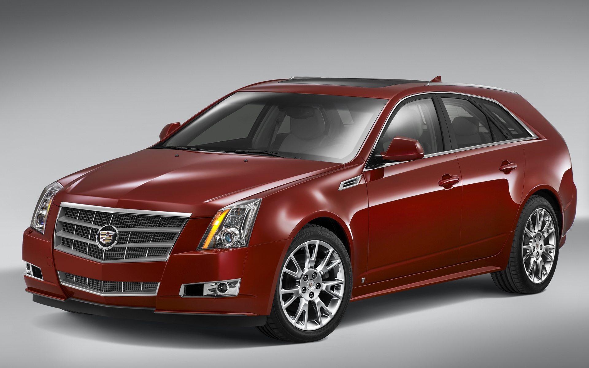 Автомобиль Cadillac CTS