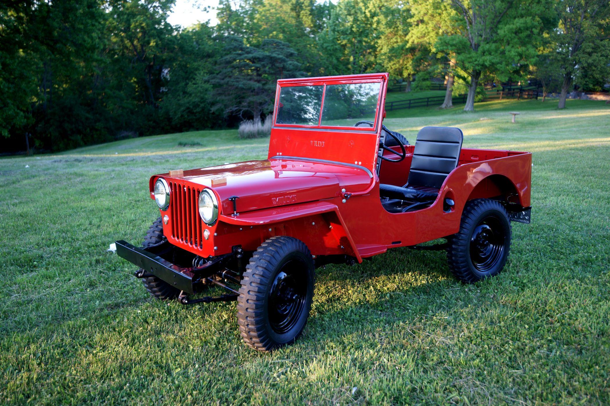 Автомобиль Jeep CJ-2A