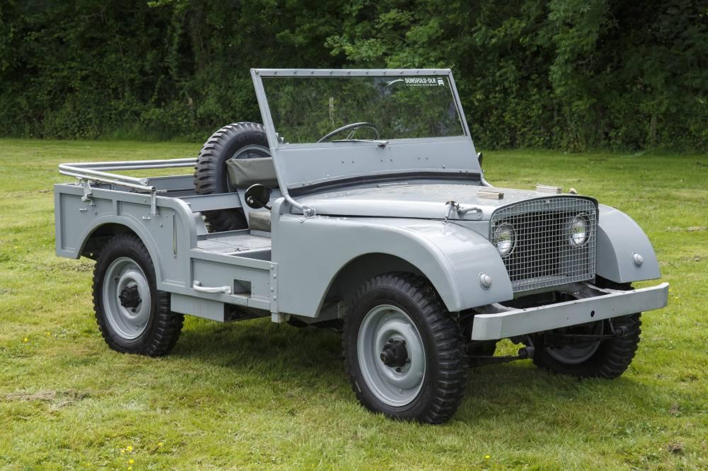 Автомобиль Land Rover Center Steer