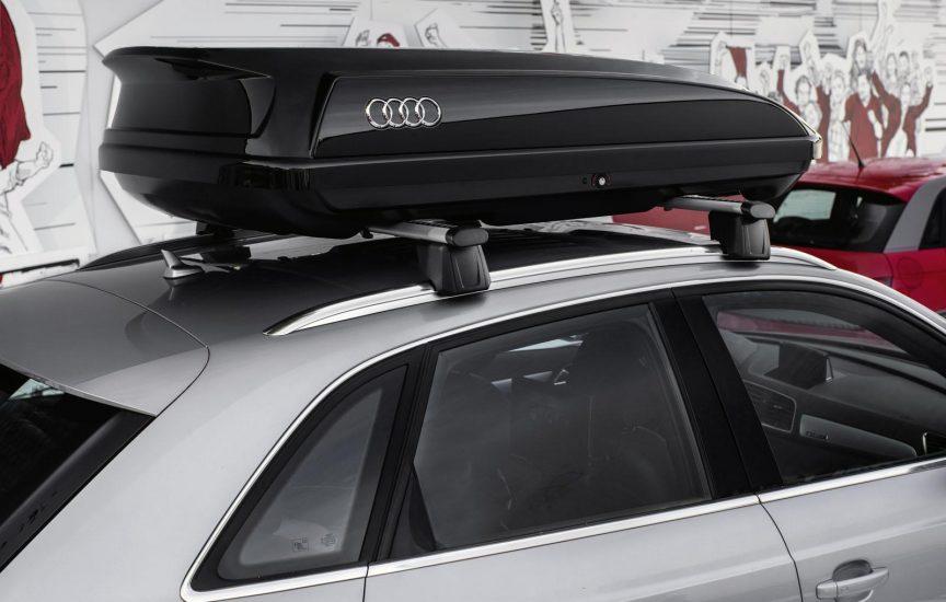 багажник на крышу ауди