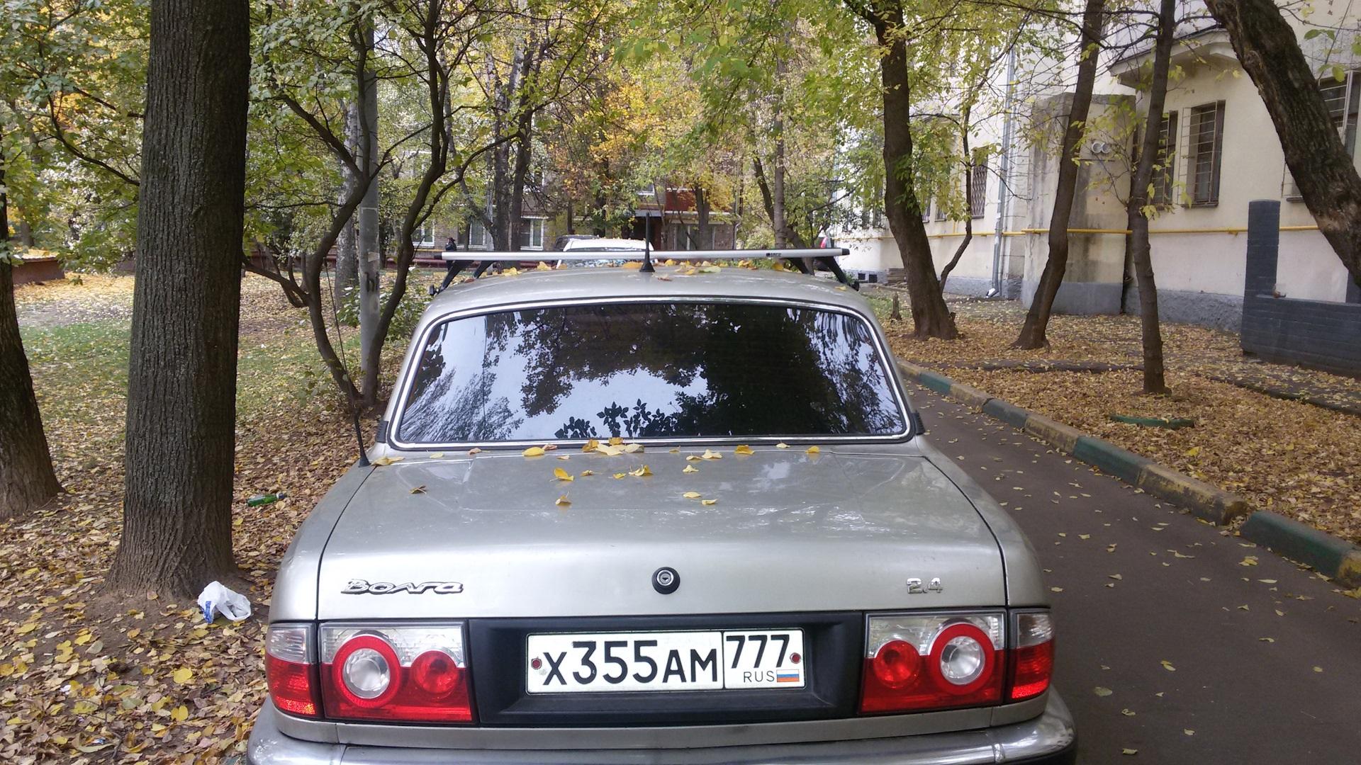 Багажник на крышу автомобиля «ГАЗ 3110»