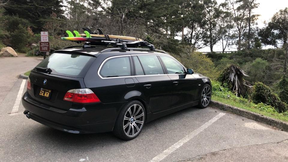 Багажник на крышу BMW 5 Series E61 универсал