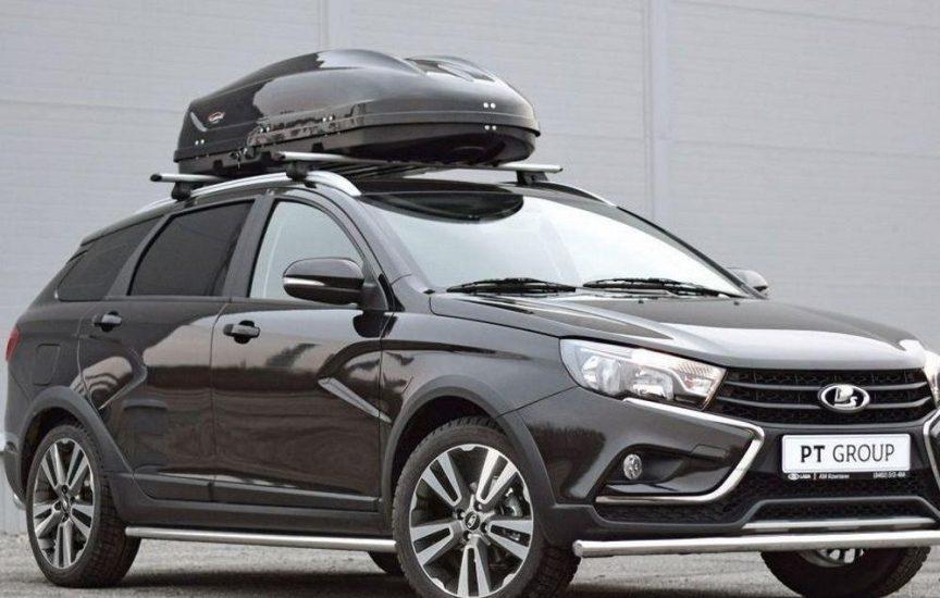 багажник на крышу лада