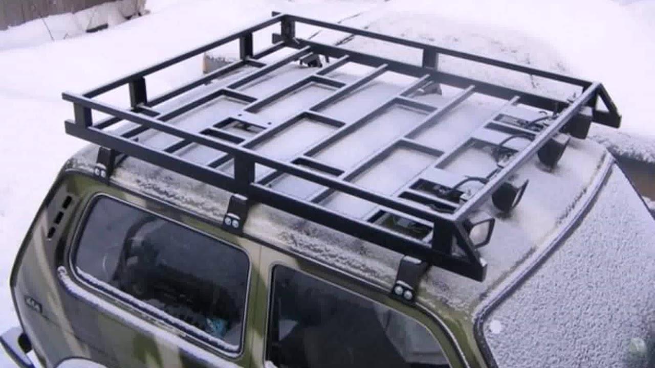 багажник на крышу нива