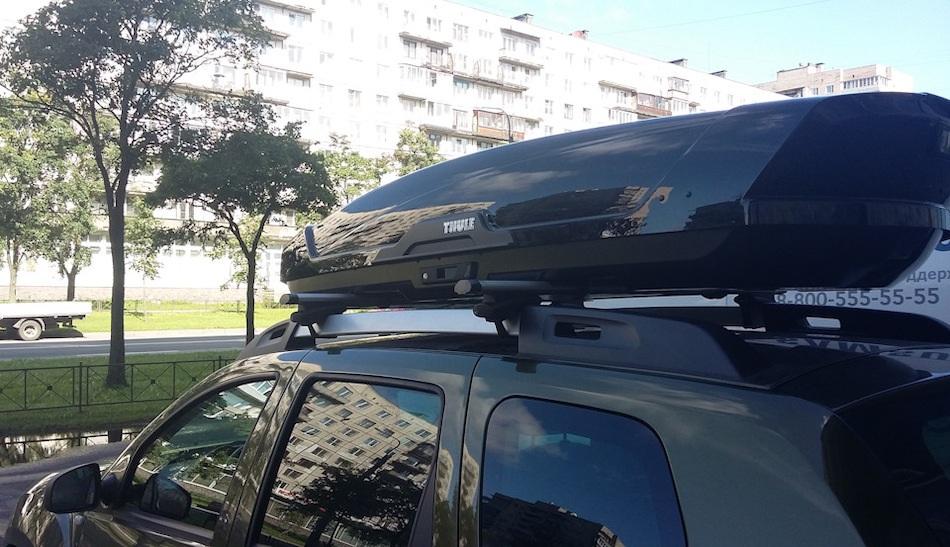 багажник на крышу renault