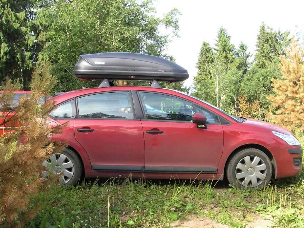 багажник на крышу ситроен