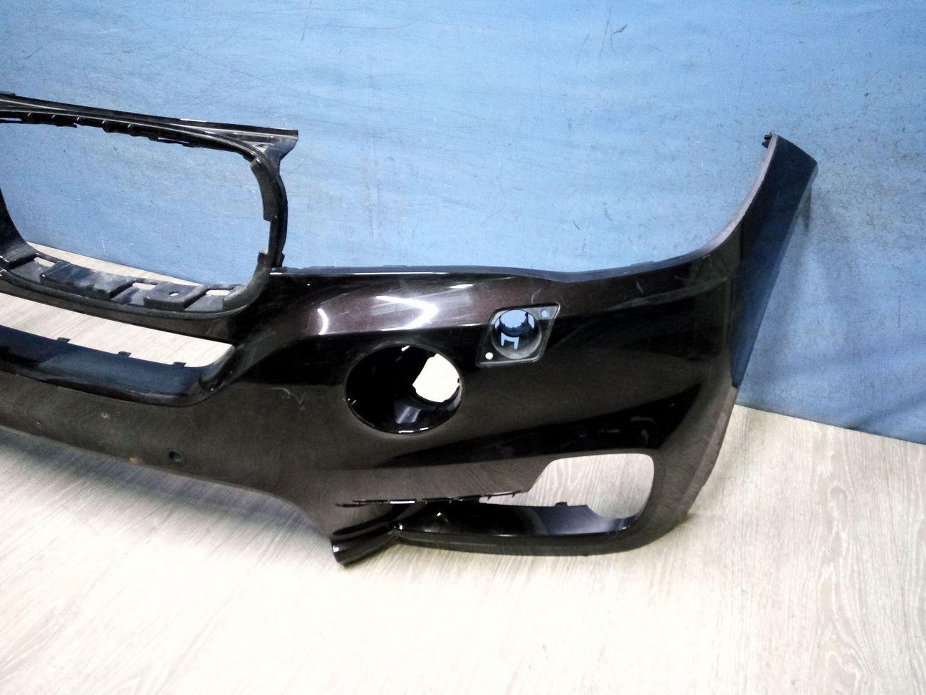 Бампер передний на BMW X5