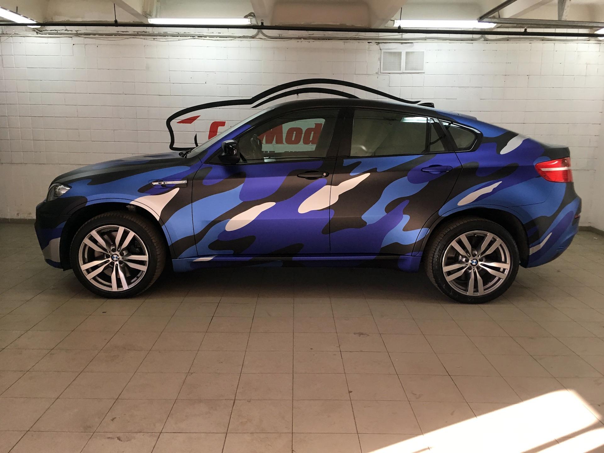 BMW X6 городской камуфляж
