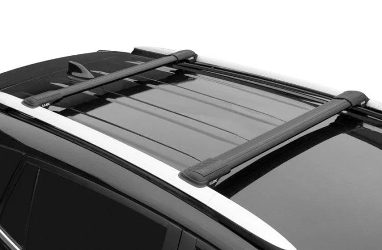 Черный багажник для Renault Clio III универсал