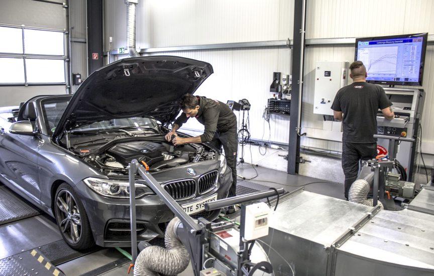 Чип-тюнинг автомобиля BMW