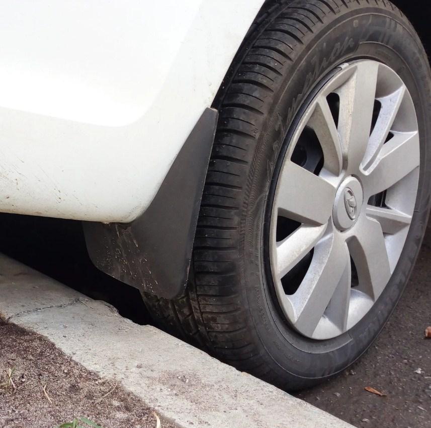 давление в колесах на ладе гранте