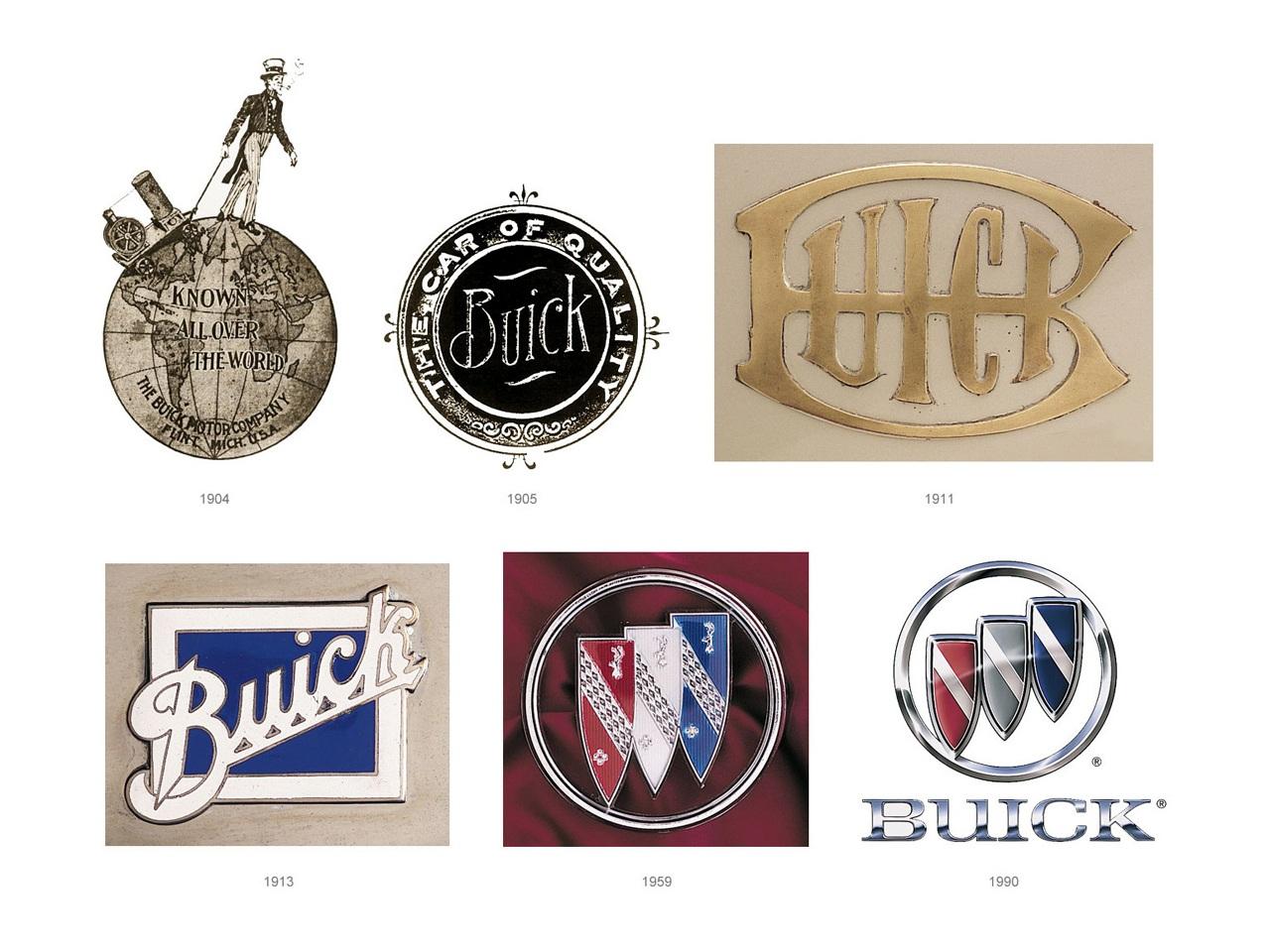 Эволюция эмблемы Buick