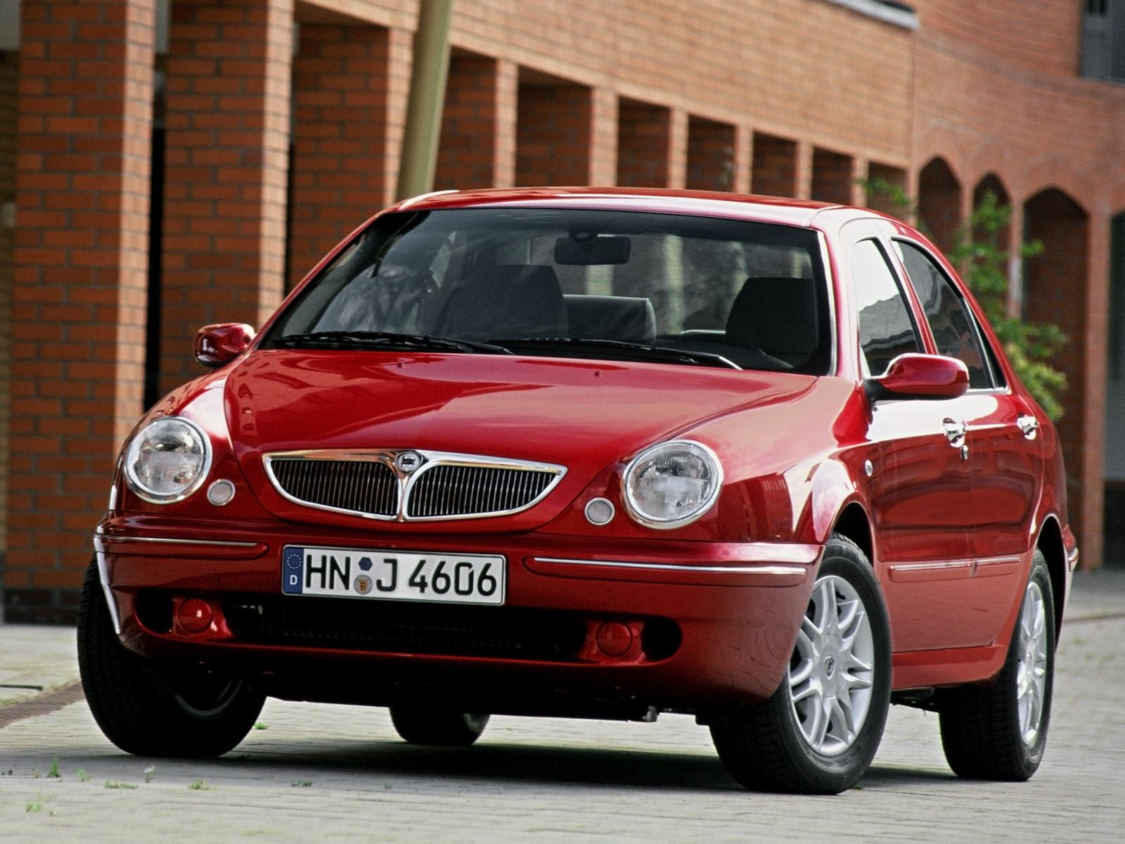 Итальянская машина Lancia