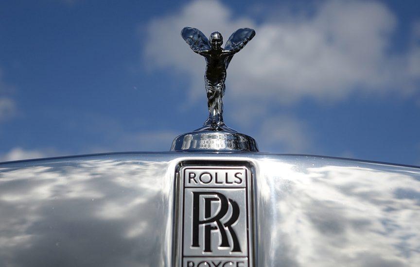 логотип Роллс-Ройс