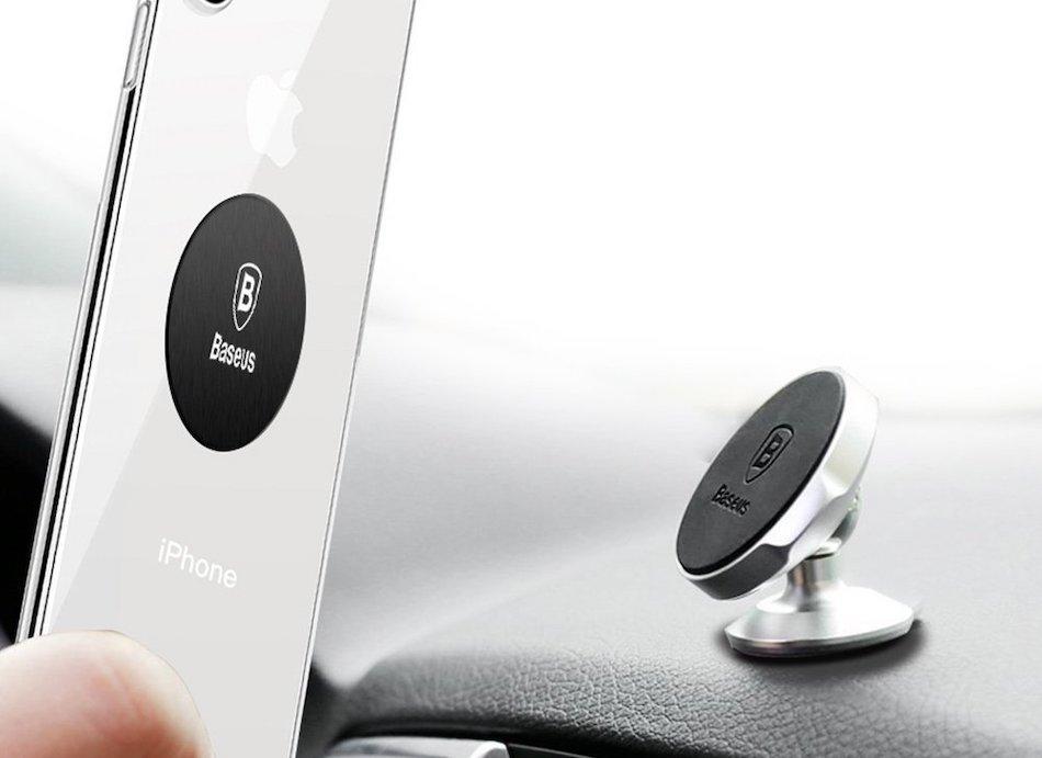 магнитный держатель для телефона в машину на торпеду