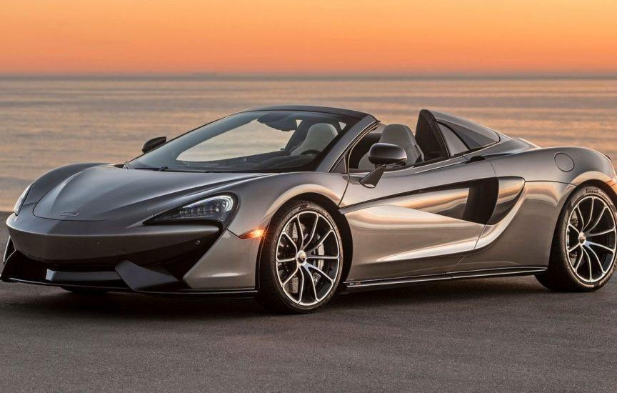McLaren 570 спорткар