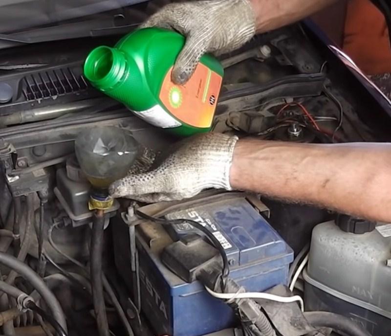 Как заливать масло в коробку передач