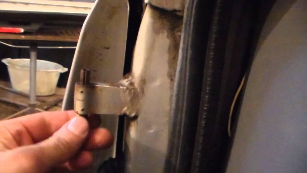 Самостоятельный ремонт дверных петель автомобиля