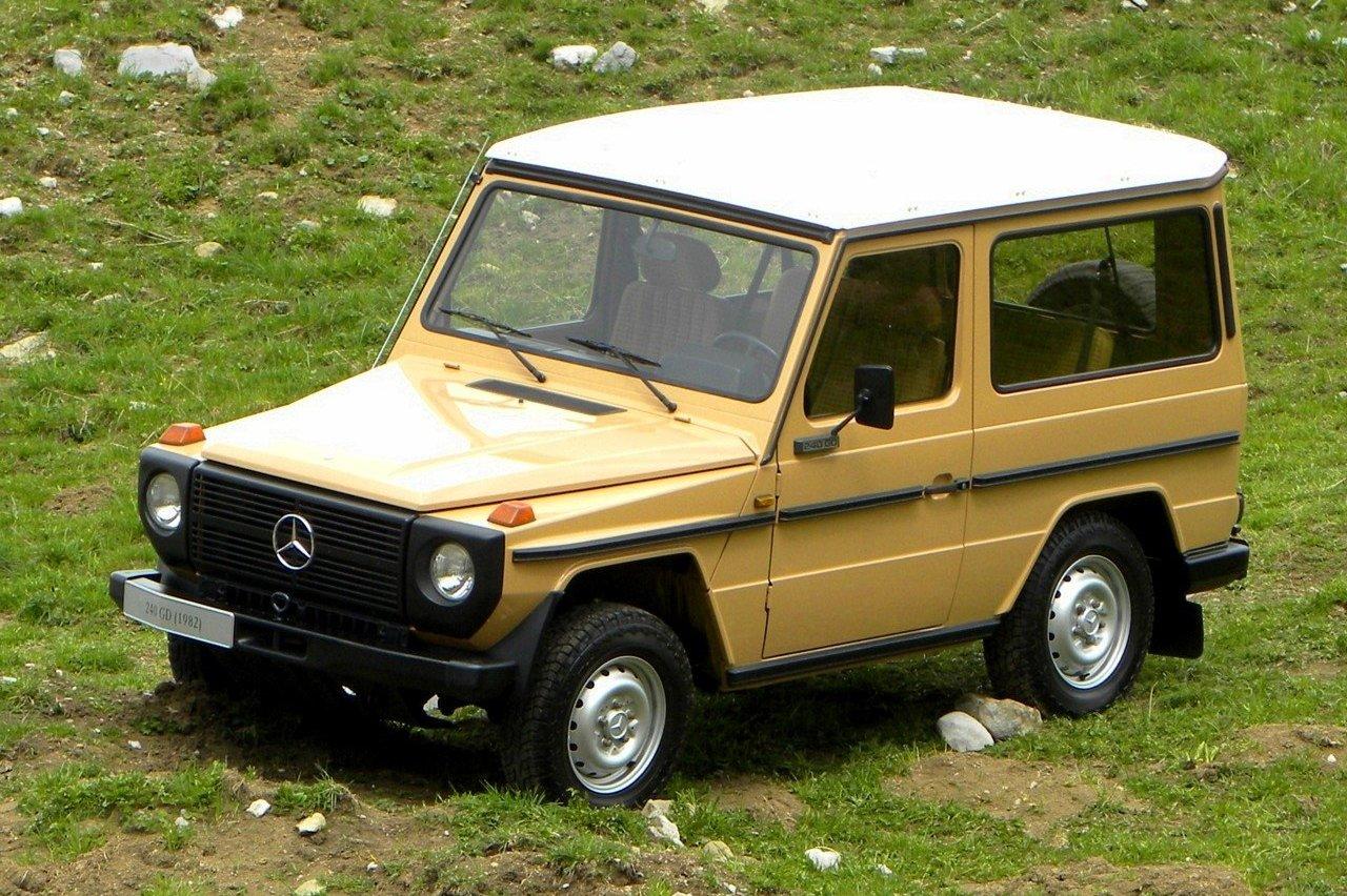 «Мерседес-Бенц» g класс w460 1979