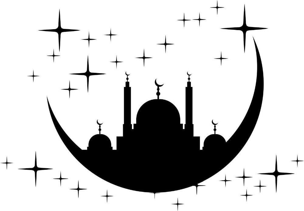 Мусульманская наклейка