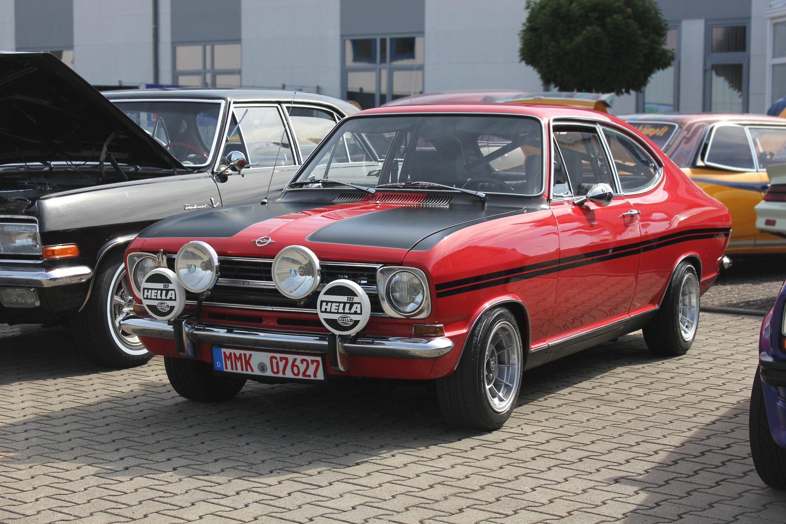 Opel Kadett 1967 года